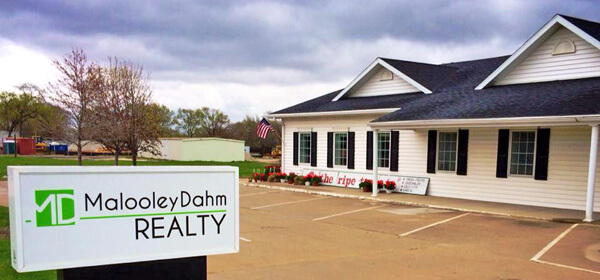 Malooley Dahm Realty, located on West Route 6 in Peru, IL.